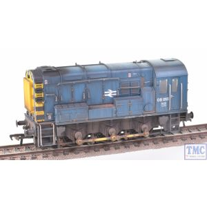32-115B Bachmann OO Gauge Class 08 08818 BR Blue Wasp Stripes with Deluxe Weathering by TMC