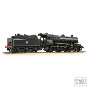 32-176 Bachmann OO Gauge LMS 5MT 'Crab' with Welded Tender 42765 BR Lined Black (Early Emblem)