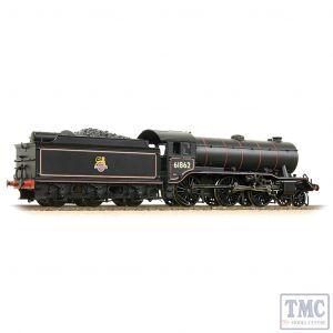 32-281 Bachmann OO Gauge LNER K3 with LNER Group Standard Stepped Tender 61862 BR Lined Black (Early Emblem)