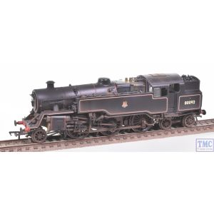 32-359A Bachmann OO Gauge BR Standard Class 4MT Tank 80092 BR Black E/Emb Real Coal & Deluxe Weathering by TMC