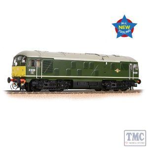 32-415 Bachmann OO Gauge Class 24/0 D5036 Disc Headcode BR Green (Small Yellow Panels)