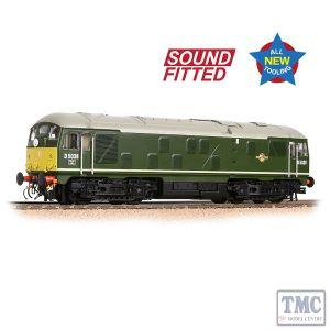 32-415SF Bachmann OO Gauge Class 24/0 D5036 Disc Headcode BR Green (Small Yellow Panels)