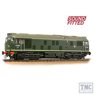 32-440SF Branchline OO Gauge Class 24/1 D5135 BR Green (Late Crest)