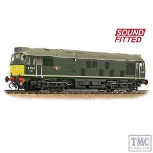 32-441SF Branchline OO Gauge Class 24/1 D5149 BR Green (Small Yellow Panels)