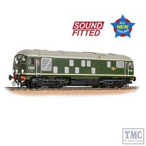 32-443SF Bachmann OO Gauge Class 24/1 D5094 Disc Headcode BR Green (Late Crest)
