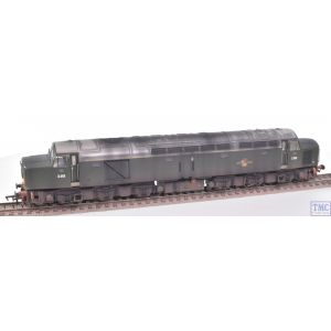 32-485 Bachmann OO Gauge Class 40 D365 BR Green (SYP)(Centre Headcode) with Deluxe Weathering by TMC