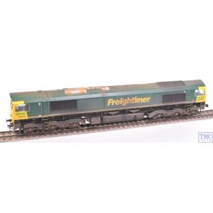 32-726 Bachmann OO Gauge Class 66 66610 Freightliner *DCC Sound* Parts & Extra Detail Weathering by TMC (Pre-owned)