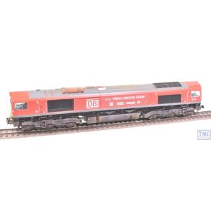 32-738Z Bachmann OO Gauge Class 66 66136 YIWU-LONDON DB Livery *TMC Limited Edition* with End Logo Detail Weathered by TMC