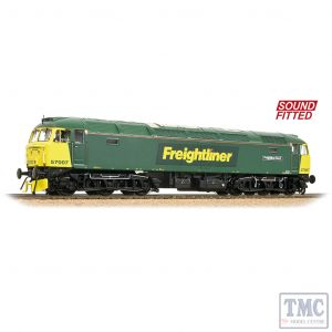 32-753DS Bachmann OO Gauge Class 57/0 57007 'Freightliner Bond' Freightliner Green - Sound Fitted