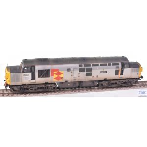 L205018A3 LIMA OO Gauge Class 37 Railfreight Petroleum Grey 37184 Immingham Motif Weathered by TMC (Pre-owned)
