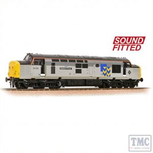 32-778RJSF Bachmann OO Gauge Class Class 37/0 37275 'Stainless Pioneer' BR Railfreight Metals Sector Sound Fitted