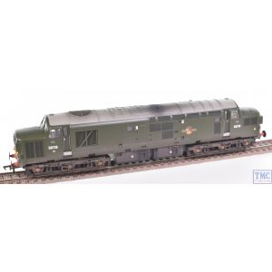 32-791DS Bachmann OO Gauge Class 37/0 Split Headcode D6739 BR Green (Small Yellow Panels) - Sound Fitted