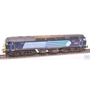32-815RJ Bachmann OO Gauge Class 47 47805 John Scott DRS Compass Livery Nameplates Fitted & Weathered by TMC