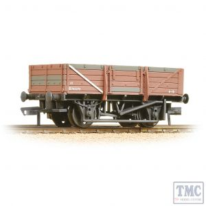33-087 Bachmann OO Gauge 5 Plank China Clay Wagon without Hood BR Bauxite - Heavily Weathered