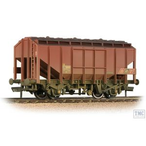 33-131 Bachmann OO Gauge BR 35T Bulk Grain Hopper BR Freight Brown (BRT) - Weathered