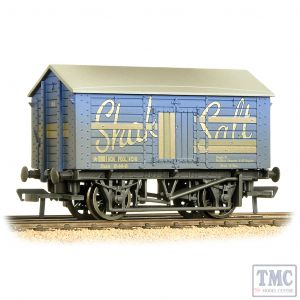 33-179B Bachmann OO Gauge 10 Ton Covered Salt Wagon 'Shaka Salt' Weathered