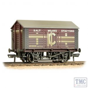 33-186 Bachmann OO Gauge 10 Ton Covered Salt Wagon 'ICI' Weathered