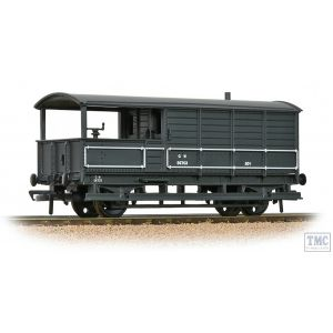 33-300H Bachmann OO Gauge GWR 20T 'Toad' Brake Van GWR Grey