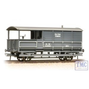 33-310 Bachmann OO Gauge 20 Ton Toad Brake Van GWR Grey - Weathered