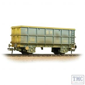 33-435C Bachmann OO Gauge 51 Tonne SSA Scrap Wagon 'SR' Blue & Grey Weathered