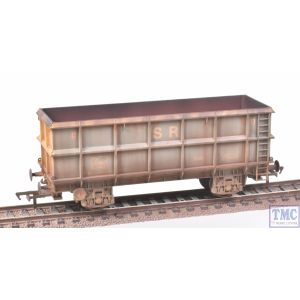 33-435C Bachmann OO Gauge SSA Scrap Wagon Standard Railfreight Blue & Yellow Weathered by TMC