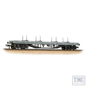 33-857B Bachmann OO Gauge 30 Ton Bogie Bolster Wagon LMS Grey