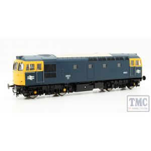 3328 Heljan OO Gauge Class 33/2 6593 in blue with full yellow ends