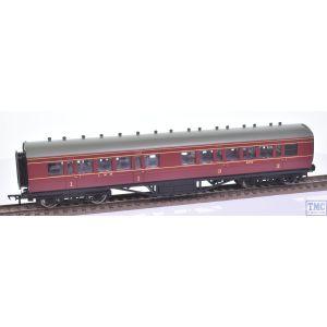 34-252D Bachmann OO Gauge LMS PII 57ft Corridor Composite 3652 Crimson