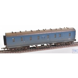 34-328A Bachmann OO Gauge LMS Stanier 50ft Full Brake BR Blue - Weathered