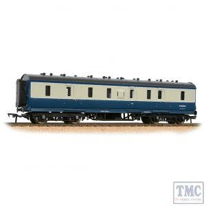 34-332 Bachmann OO Gauge LMS Stanier 50ft Full Brake BR Blue & Grey