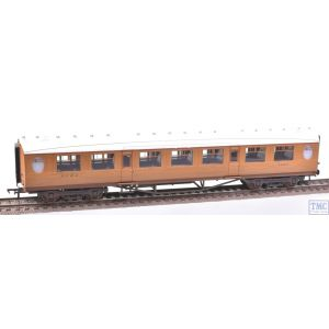 34-385 Bachmann OO Gauge Thompson 3rd Class Corridor LNER Teak Weathered by TMC