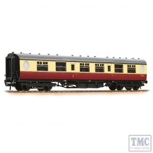 34-411 Bachmann OO Gauge LNER Thompson Composite Corridor BR Crimson & Cream