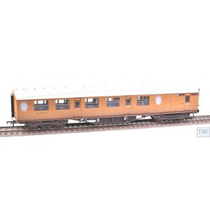 34-435 Bachmann OO Gauge Thompson Composite Brake Coach LNER Teak Weathered by TMC