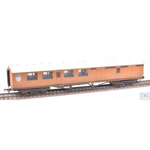 34-460 Bachmann OO Gauge Thompson 3rd Class Brake Corridor LNER Teak Weathered by TMC