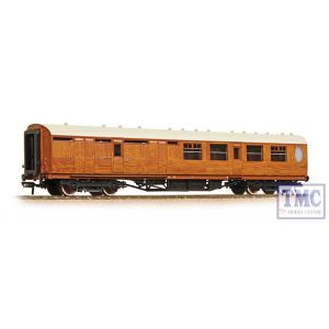 34-460 Bachmann OO Gauge Thompson 3rd Class Brake Corridor LNER Teak
