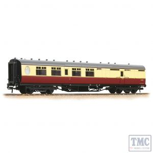 34-461 Bachmann OO Gauge LNER Thompson Brake Third Corridor BR Crimson & Cream