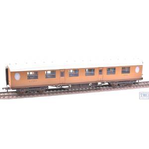 34-485 Bachmann OO Gauge Thompson 1st Class Corridor Coach LNER Teak Weathered by TMC