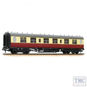 34-486 Bachmann OO Gauge LNER Thompson First Corridor BR Crimson & Cream