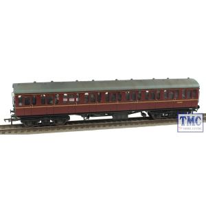 34-604C Bachmann OO Gauge BR MK1 Suburban Open Coach Lined Maroon Weathered by TMC