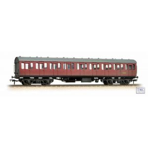 34-608 Bachmann OO/HO Scale BR Mk1 Suburban Second Open Crimson Weathered