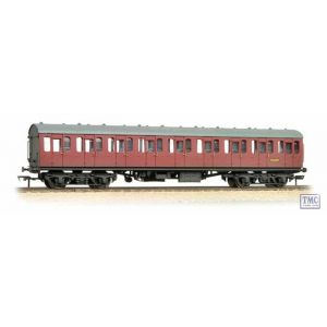 34-609 Bachmann OO/HO Scale BR Mk1 Suburban Second Crimson Weathered