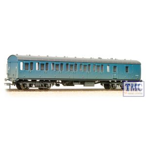 34-632 Bachmann OO Gauge BR Mk1 Suburban Second Brake Blue Weathered