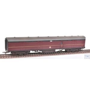 34-654C Bachmann OO Gauge 63ft Thompson Full Brake Coach Maroon Weathered by TMC