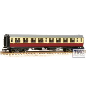 34-776A Bachmann OO Gauge SR Bulleid Third Corridor 15'' Vents BR Crimson & Cream