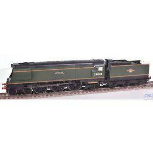 R3638 Hornby OO Gauge BR West Country Class 4-6-2 34019 Bideford - Era 5