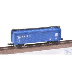 3464 Model Power N Gauge US Outline Boxcar WAB7228 WABASH Blue