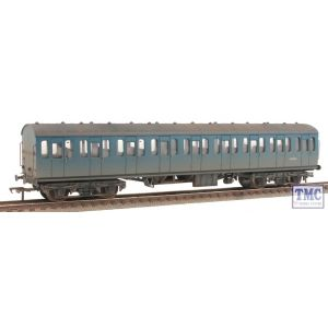 34-677 Bachmann OO/HO Gauge BR Mk1 Suburban Open Blue Weathered by TMC