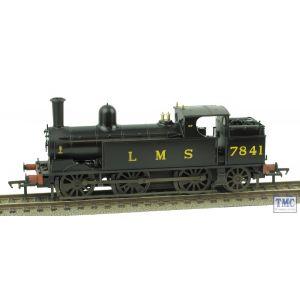35-051 Bachmann OO Gauge LNWR Webb Coal Tank 7841 LMS Black Real Coal Glossed & Weathered by TMC