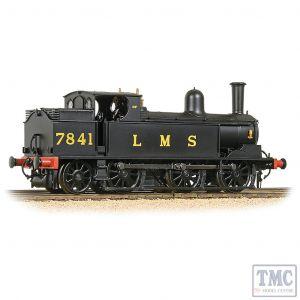 35-051 Bachmann OO Gauge LNWR Webb Coal Tank 7841 LMS Black (Original)