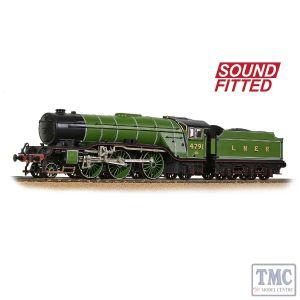 35-200SF Bachmann OO Gauge LNER V2 4791 LNER Lined Green (Original)